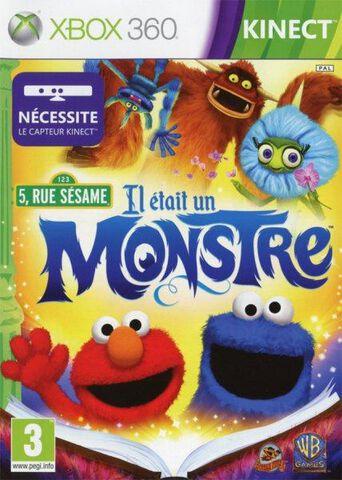 5, Rue Sesame : Il était Un Monstre (kinect)