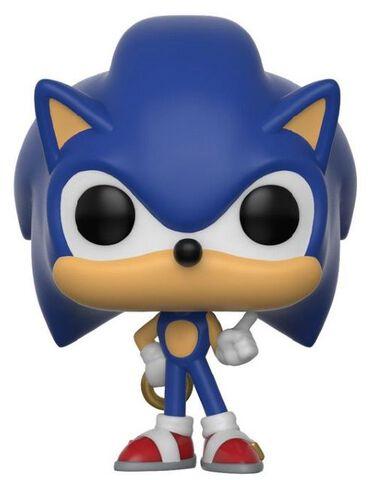 Porte-cles Funko Pop!- Sonic - Sonic Avec Anneau