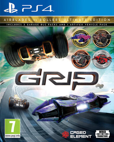 Grip Combat Racing Roller Vs Airblades Ultimate Edition
