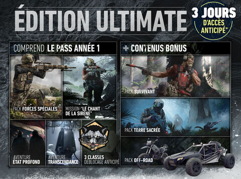 Ghost Recon Breakpoint Edition Ultimate (exclusivité Micromania)
