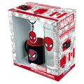 Coffret - Spider-Man - Pack Verre 29 cl + Porte-clés + Mini Mug Marvel Spider-Man