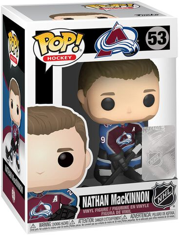Figurine Funko Pop! N°53 - Nhl : Avalanche - Nathan Mackinnon (home Jersey)