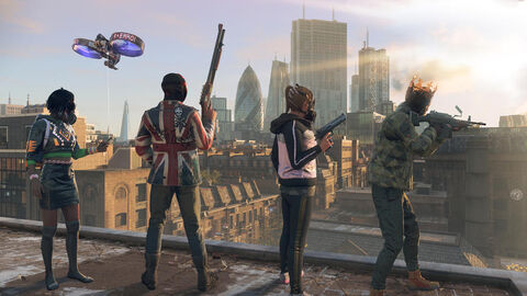 Watch Dogs Legion Edition Gold - Versions PS5 et