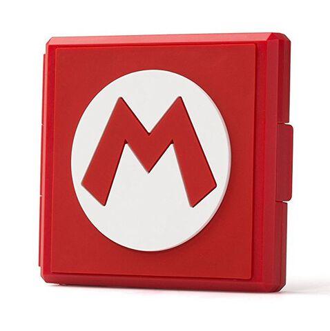 Boitier de rangement Mario (M Symbol)