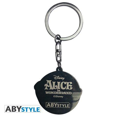 Porte-cles - Alice Au Pays Des Merveilles - Chat Du Cheshire