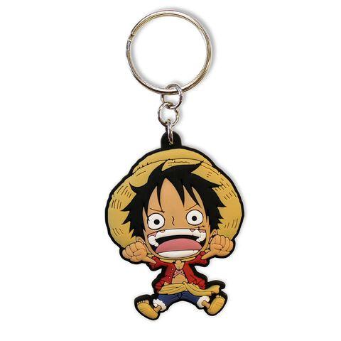 Porte-clés - One Piece - Luffy Sd