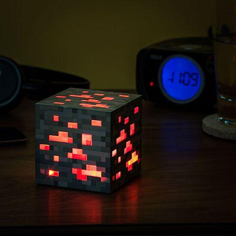 Veilleuse - Minecraft - Redstone Ore
