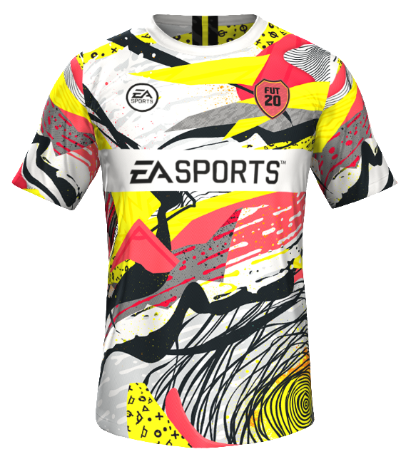 T-shirt - FIFA 20 - Maillot - Taille Xxl