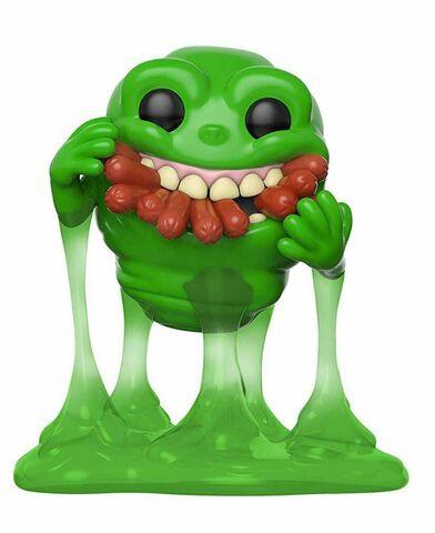 Figurine Funko Pop! N°747 - SOS Fantômes - Slimer avec Hot Dogs