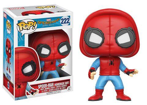 Figurine Funko Pop! N°222 - Spider-Man Homecoming - Spider-Man Homesuit