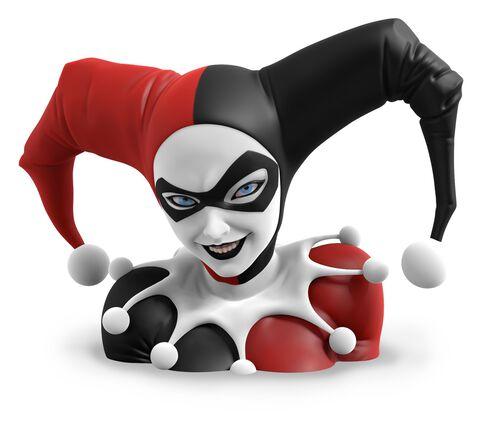 Buste - DC Comics - Harley Quinn en résine