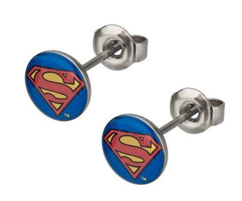 Boucles d'oreilles - DC Comics - Logo Superman