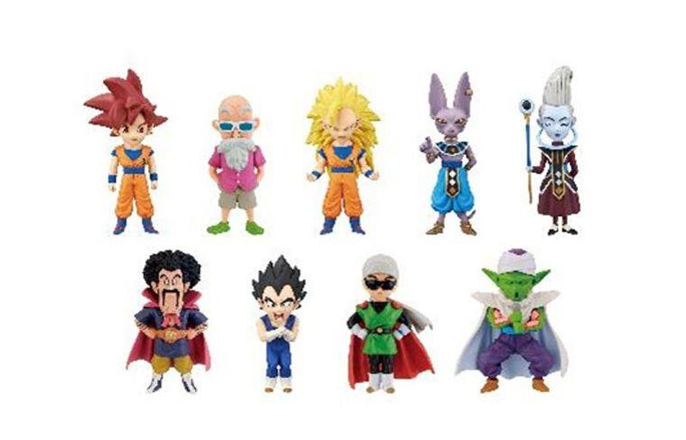 Figurines Mystère WCF - Dragon Ball Z - God vs God 7 cm