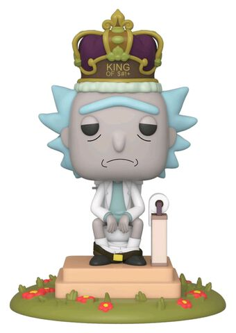 Figurine Funko Pop! N°694 - Rick Et Morty - Rick Aux Toilettes