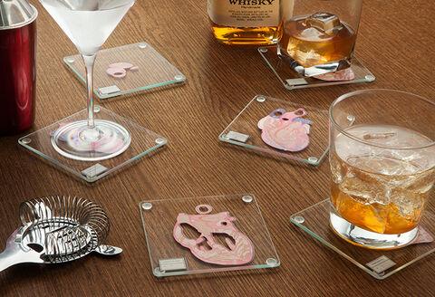 Dessous de verre - Thinkgeek coupes de coeur - Exclusif Micromania - GameStop