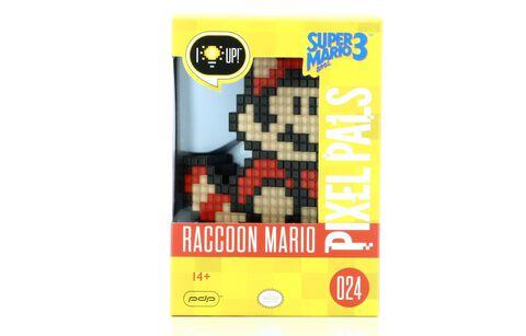 Lampe Pixel Pals - Super Mario - Mario Tanuki