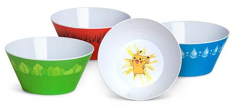 Set de 4 bols Pokémon