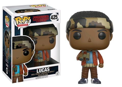 Figurine Funko Pop! N° 425 - Stranger Things - Lucas