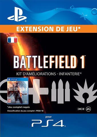 DLC - Battlefield 1 Kit Améliorations Infanterie - PS4