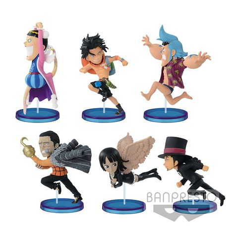 Figurine Mystère WCF - One Piece - History Relay 20th - Vol.2