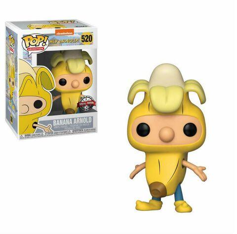 Figurine Funko Pop! N°520 Nickelodeon - He Arnold - Arnold Banane