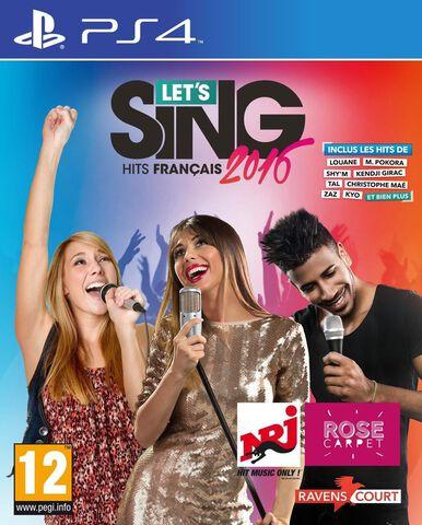 Let's Sing 2016 Hits Français