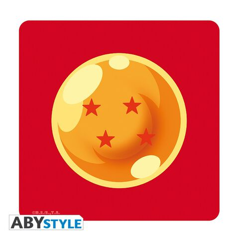 Coffret - Dragon Ball - Verre 29cl + Dessous De Verre + Mini Mug Boule De Crista