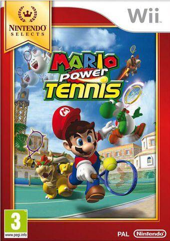 Mario Power Tennis Select