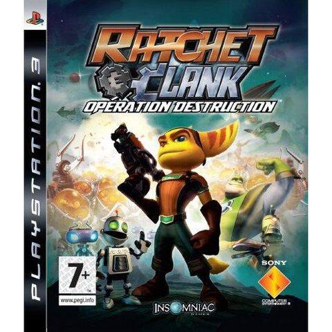 Ratchet & Clank Outils De Destruction