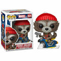 Figurine Funko Pop! N°531 - Marvel Holiday - Rocket