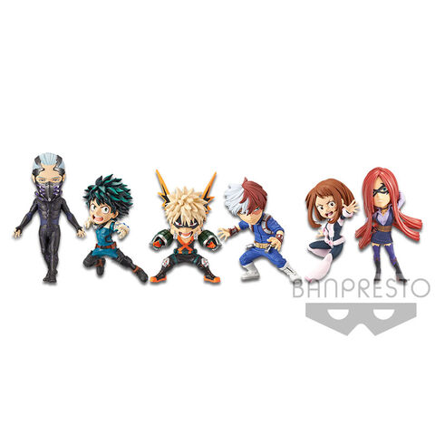 Figurine World Collectable - My Hero Academia - Assortiment 6 Pièces