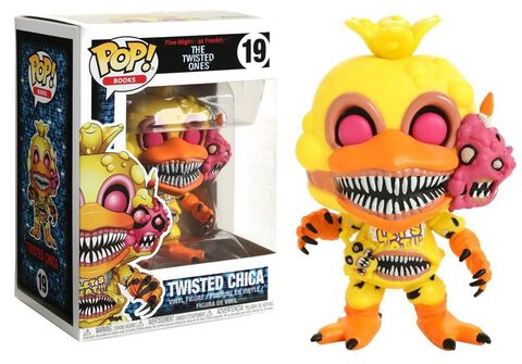 Figurine Funko Pop! N°19 - Five Nights At Freddy's - Twisted Chica