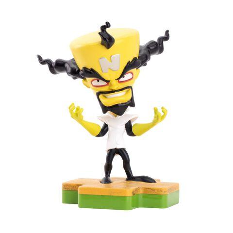 Figurine Totaku N°31 - Crash Bandicoot - Dr Neo Cortex - Exclusivité Micromania-Zing