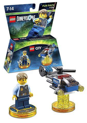 Pack Heros Lego Dimensions Lego City
