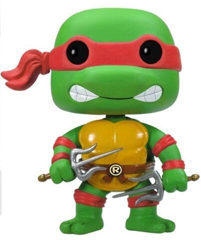 Figurine Funko Pop! N°61 - Tortues Ninja - Raphael