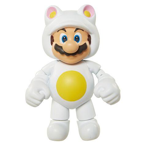 Figurine - Nintendo - Mario Tanuki Blanc
