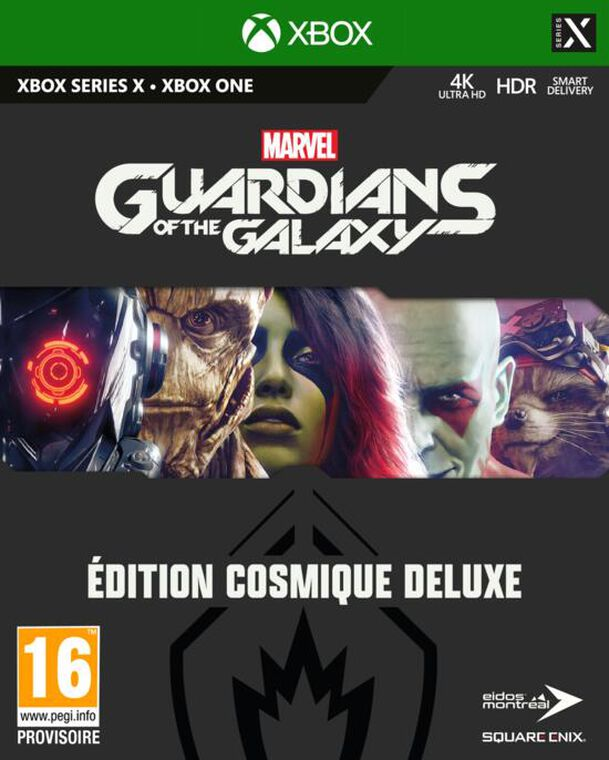 Marvel's Guardians Of The Galaxy Edition Cosmique Deluxe