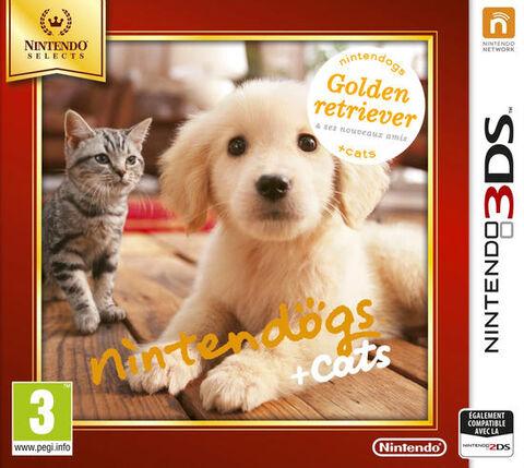 Nintendogs + Cats Golden Retriever & Ses Nouveaux Amis Selects