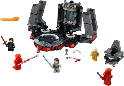 Lego - Star Wars - 75216 - Salle du trône de Snoke