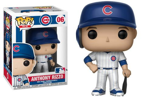 Figurine Funko Pop! N°06 - Major League Baseball Saison 3 - Anthony Rizzo