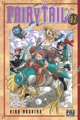 Manga - Fairy Tail - Tome 11