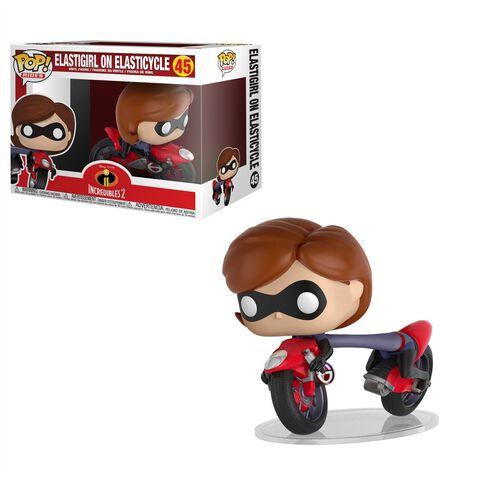 Figurine Funko Pop! N°45 - Les Indestructibles 2 - Elastigirl Sur Moto