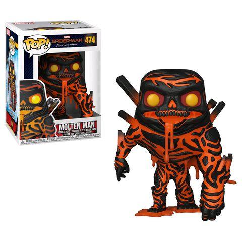 Figurine Funko Pop! N°474 - Spider-Man : Far From Home - L'Homme de Métal