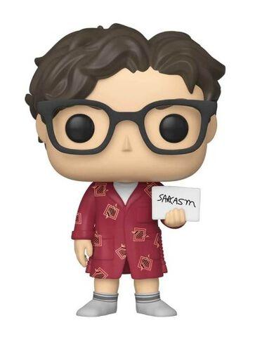 Figurine Funko Pop! N°778 - The Big Bang Theory - S2 Leonard Hofstadter en robe