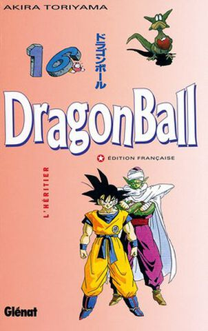 Manga - Dragon Ball - Tome 16 L'heritier