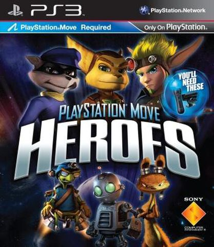 Playstation Move Heroes (move)