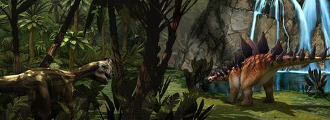 Dinosaures 3D : Combat de Géants