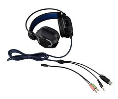 Casque Gaming The G-lab Korp 300 Lumineux Et Vibrant