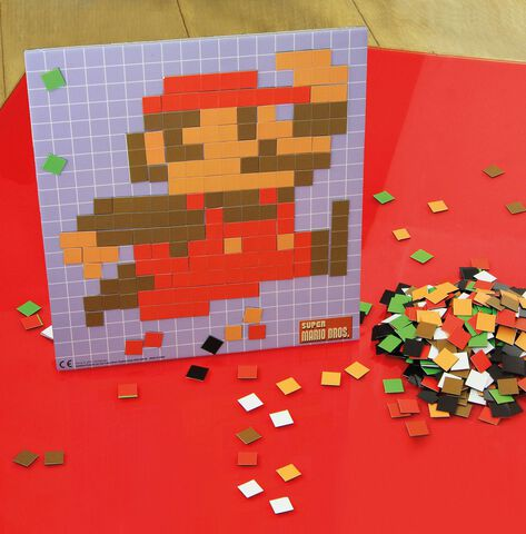 Magnets Nintendo Super Mario Bros Pixel Craft