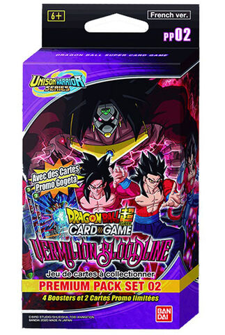 Booster - Dragon Ball Super Jcc - Premium Pack Set 02